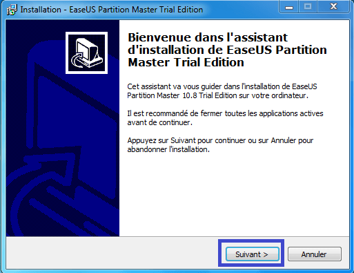 tutoriel partition master professional 3