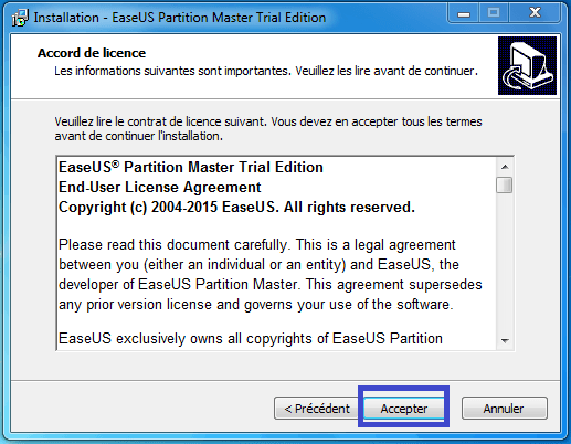 tutoriel partition master professional 5