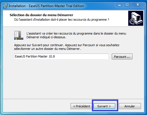 tutoriel partition master professional 8