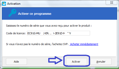 tutoriel partition master professional ACTIVATION 2
