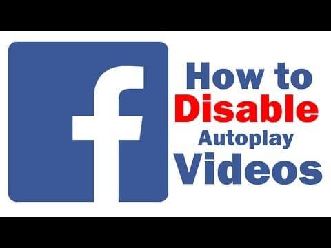 Facebook-désactiver démarrage auto Videos sospc.name