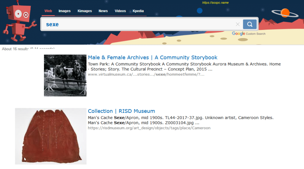 Kiddle : un nouveau moteur de recherche pour vos enfants.