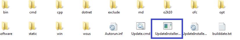 WSUS OFFLINE fichier iso executer 2 sopsc.name tutoriel