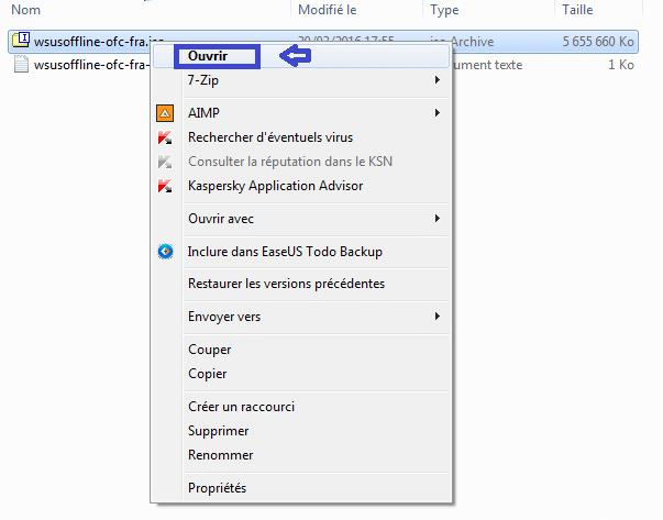 WSUS OFFLINE fichier iso executer 3 sopsc.name tutoriel