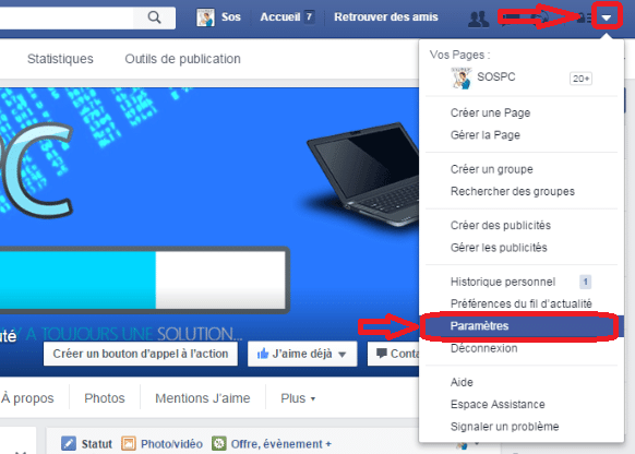 facebook désactiver démarrage automatique vidéos 1
