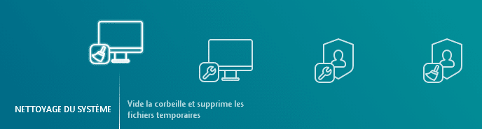 kaspersky cleaner interface traduite en français