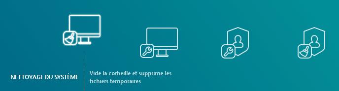 kaspersky cleaner interface traduite en français