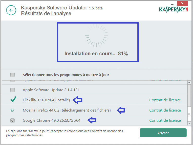 kaspersky software updater installation sospc.name tutoriel 13