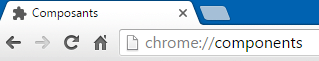 sospc.name impossible de charger le plugin sur chrome 4.5