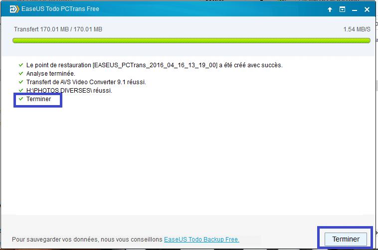 EaseUS tutoriel sospc.name transfert via internet 11