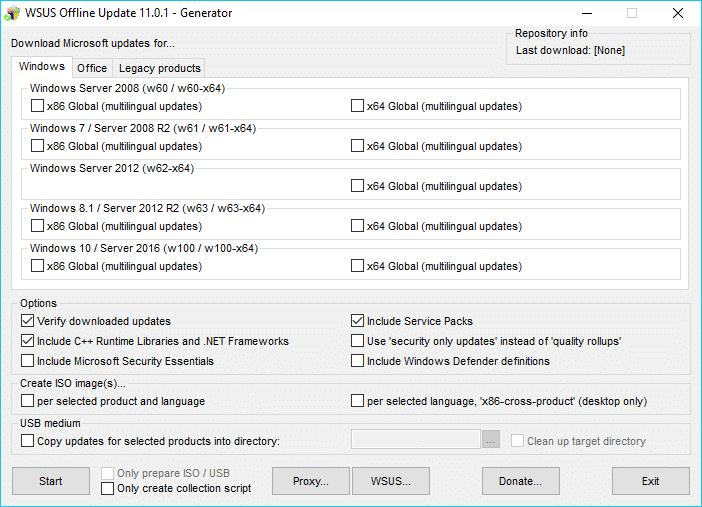WSUS Offline Update 11