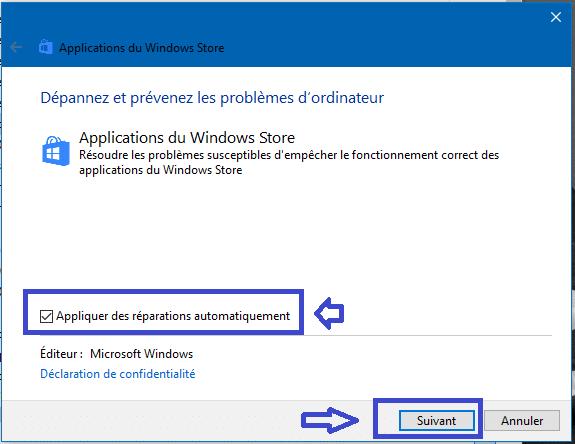 réparer applications windows store windows 10 sospc.name 1.5