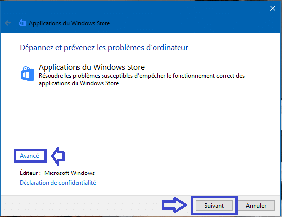 réparer applications windows store windows 10 sospc.name 1