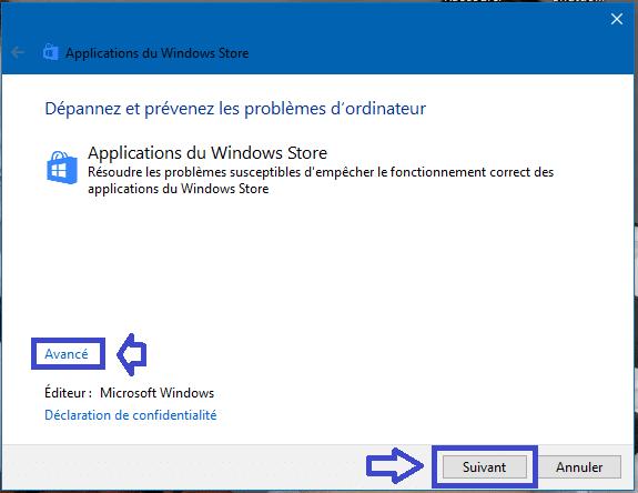 réparer applications windows store windows 10 sospc.name 1