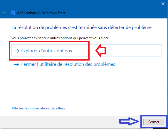 réparer applications windows store windows 10 sospc.name 6