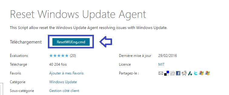 réparer windows update vista à 10 sospc.name tutoriel 1