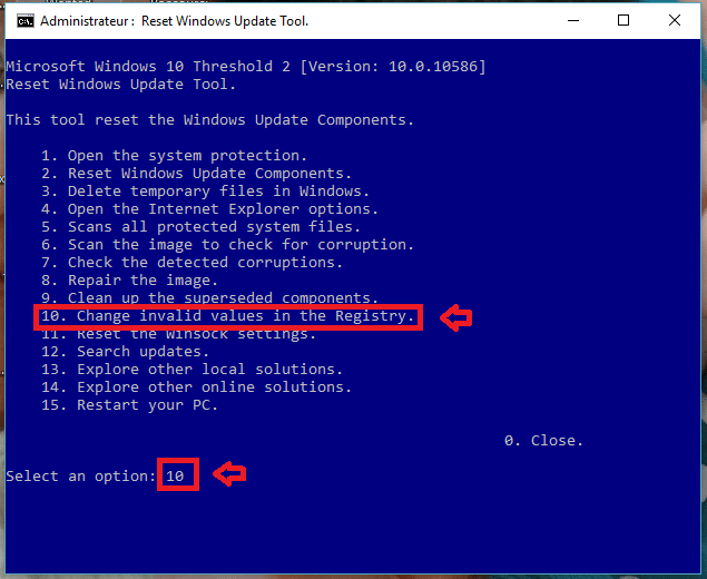 réparer windows update vista à 10 sospc.name tutoriel 11