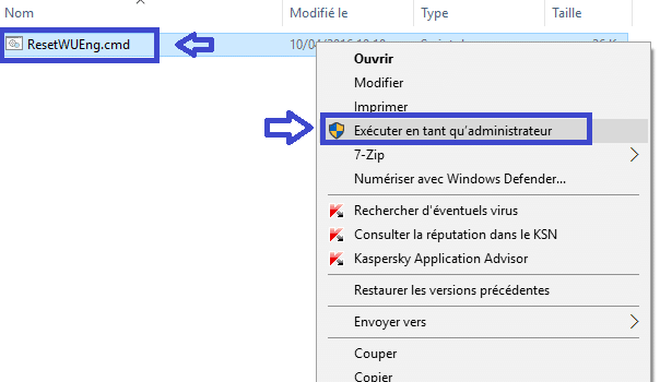 réparer windows update vista à 10 sospc.name tutoriel 5