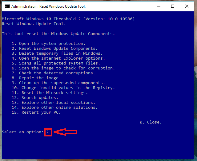 réparer windows update vista à 10 sospc.name tutoriel 8