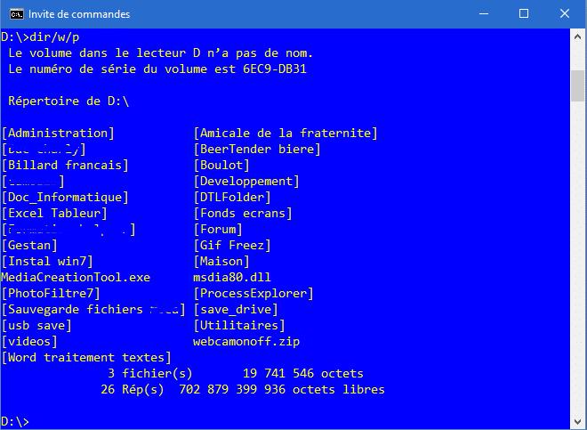 L'interpréteur de commandes CMD Découvrir son utilisation, par Didpoy.6