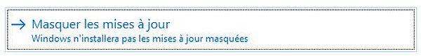 Empêcher temporairement une mise à jour de Windows, tuto didpoy www.sospc.name 7