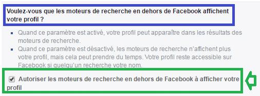 facebook confidentialité réglages m