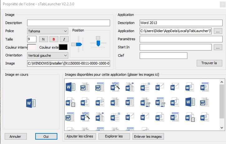 sTabLaucher une Barre Outils qui se fait discrète sospc.name configuration 14