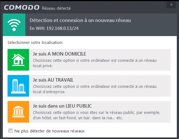 comodo firewall tutoriel d'installation sospc.name 11
