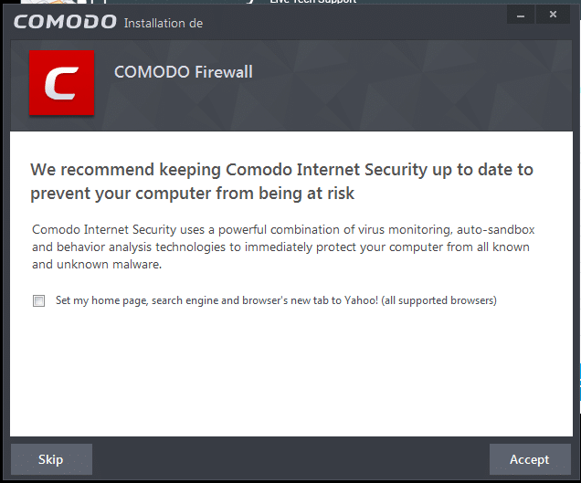 comodo firewall tutoriel d'installation sospc.name 20