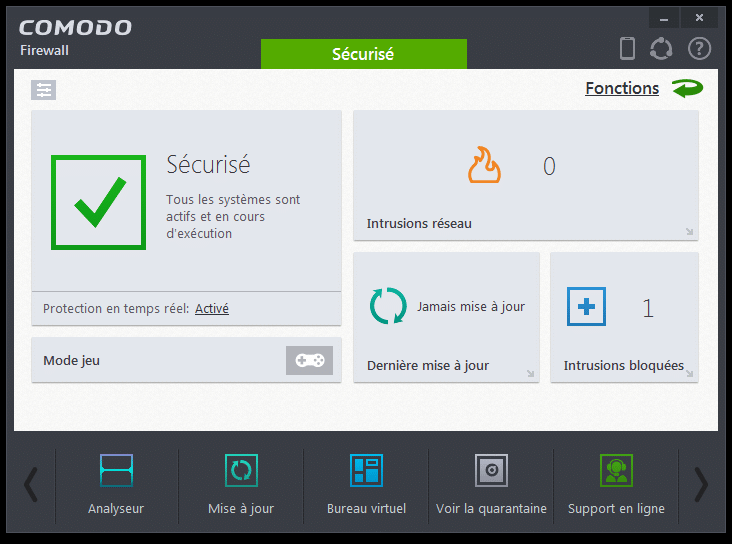 comodo firewall tutoriel d'installation sospc.name 25