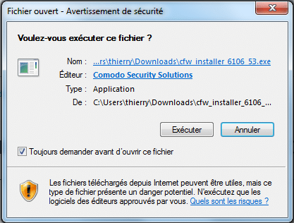 comodo firewall tutoriel d'installation sospc.name 5