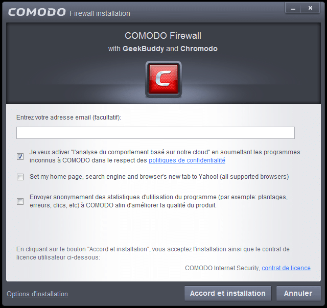 comodo firewall tutoriel d'installation sospc.name 8
