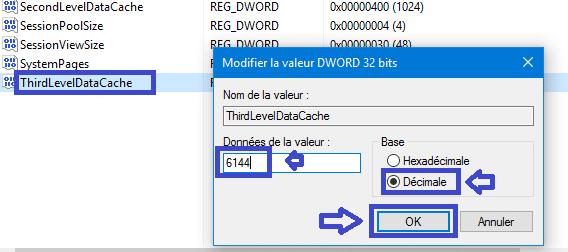 modifier cache processeur tutoriel sospc.name config I5 4 coeurs 9