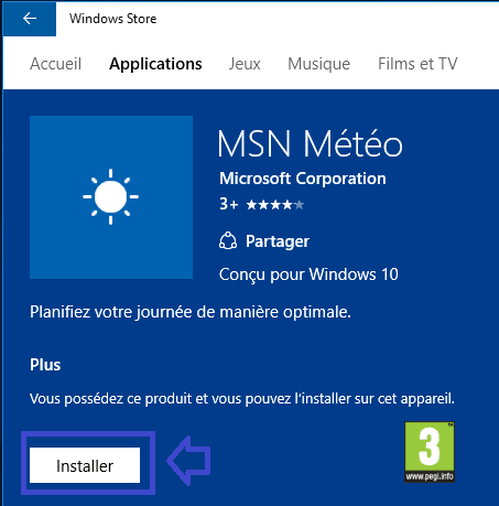 réinstaller applications windows 10 tutoriel www.sospc.name 7