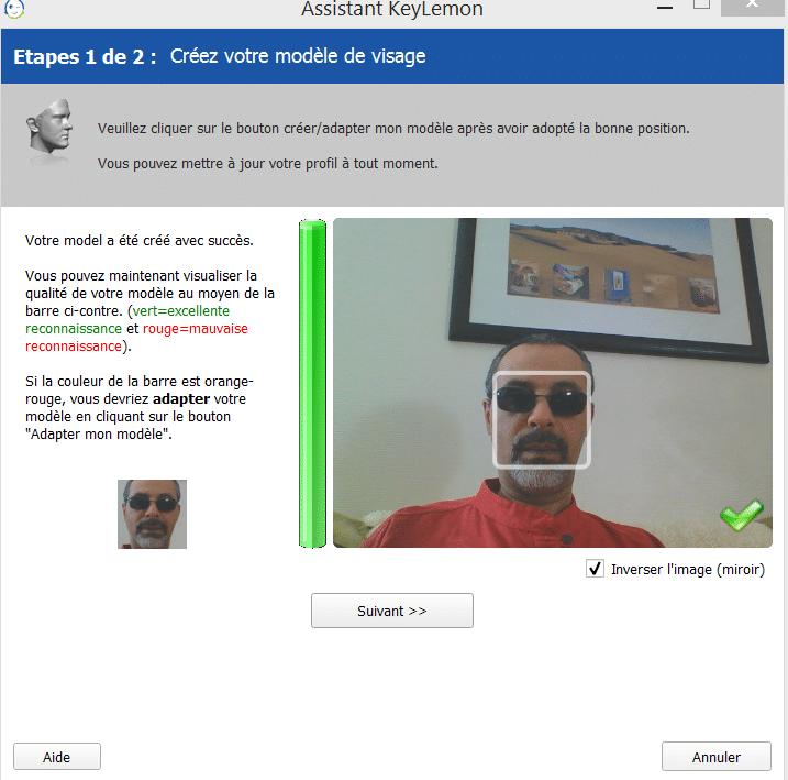 Déverrouillez votre session avec un scan facial, par Charly.sospc.name 5