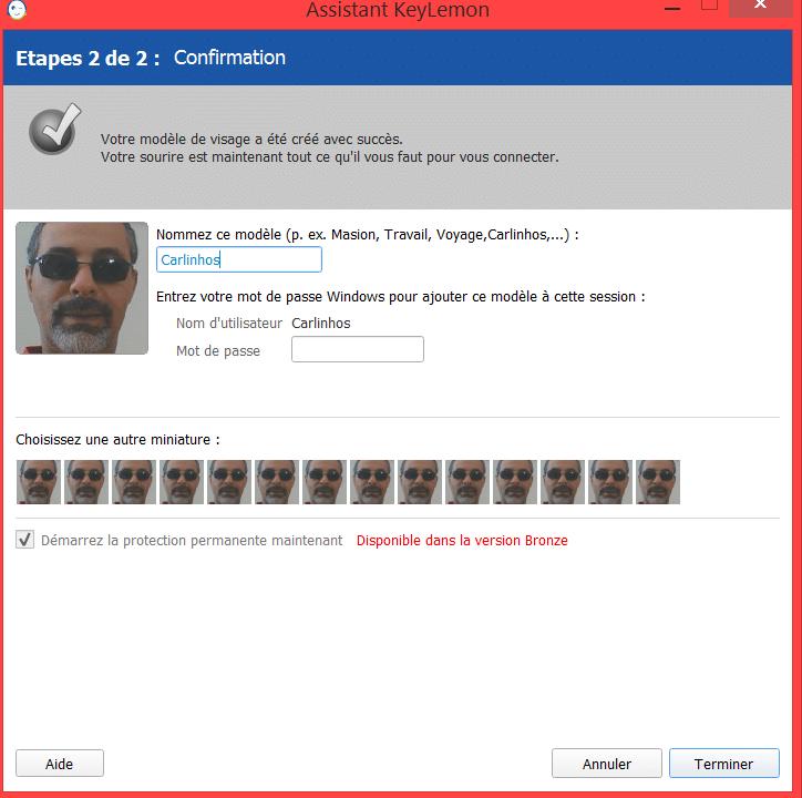 Déverrouillez votre session avec un scan facial, par Charly.sospc.name 6