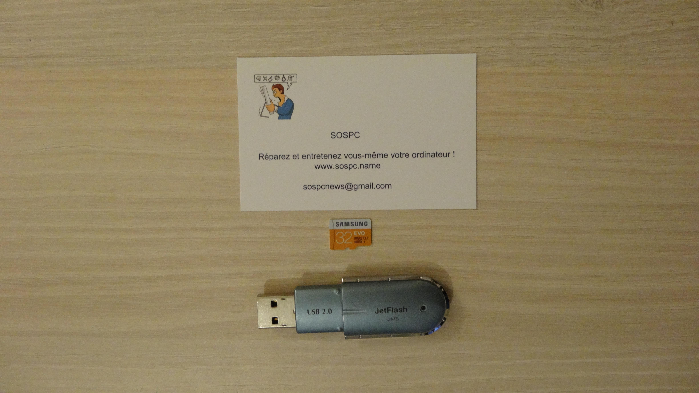 Le test du mois Carte microSD Samsung EVO 32 Go clé 32mo