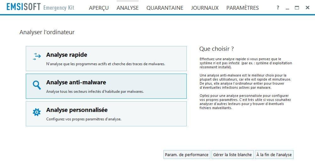 PC infecté Emsisoft Emergency Kit, une solution d'urgence, par Didier sospc.name 17