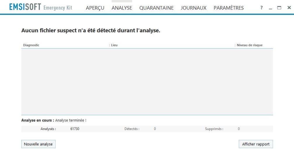 PC infecté Emsisoft Emergency Kit, une solution d'urgence, par Didier sospc.name 21
