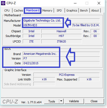 CPU-Z legaragedupc.fr tutoriel 2