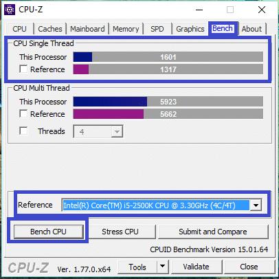 CPU-Z legaragedupc.fr tutoriel 6
