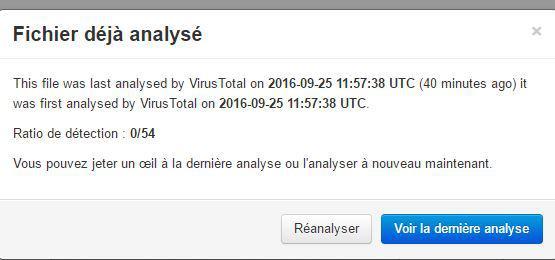 Un doute sur une pièce jointe, utilisez Virustotal.