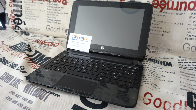 Changement d'un Disque Dur sur un Netbook Hp, cas pratique.