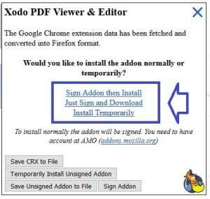 Chrome Store Foxified installez les extensions de Chrome sous
