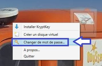 utilisation kryptkey