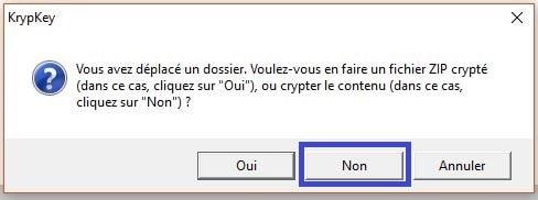 utilisation kryptkey 7
