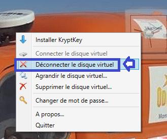 utilisation kryptkey 20