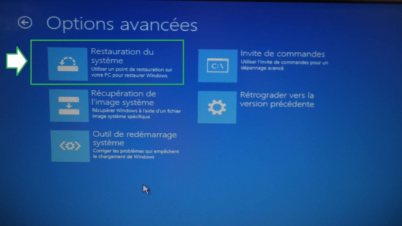 Restaurer / réparer Windows quand le Système ne démarre plus.