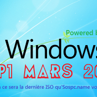Windows 7 SP1, version de Mars 2017 avec prise en charge USB3, par Goof.