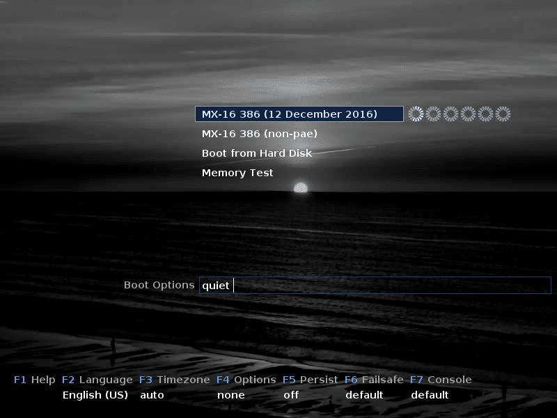 mx 16 linux tuto